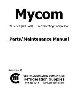 Mycom W Series  WA WB Compressor
