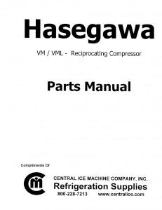 Hasegawa VM / VML  Compressor Parts
